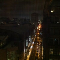 Photo taken at Hilton Garden Inn Philadelphia Center City by Brandon H. on 1/29/2011