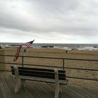 Photo taken at Asbury Park Beach by Jim G. on 9/11/2011