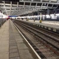 Photo taken at London Blackfriars Railway Station (BFR) by Chris E. on 2/23/2012