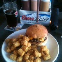 Photo taken at Rex's Burgers & Brews by Kodi S. on 5/7/2012