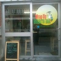 Photo taken at Wrap Up Burritobar by Van K. on 2/14/2012