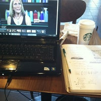 Photo taken at Starbucks by Tamika E. on 3/26/2012