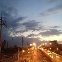 Photo taken at Chaeng Watthana Road by BabbBirdBird on 6/13/2012