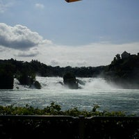 Photo taken at Rheinfall by Dany on 6/17/2012