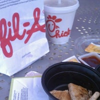 Photo taken at Chick-fil-A Edinburgh Commons by Bethany H. on 6/14/2012
