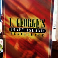 Photo taken at L. George's Coney Island by Jade H. on 10/21/2011