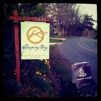 Photo taken at Sleeping Dog Farm by LizZdunich N. on 4/10/2012
