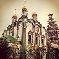 Photo taken at Храм Святителя Николая в Хамовниках by Александр <С> Г. on 8/28/2012