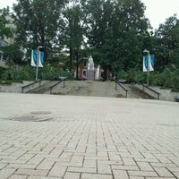 Photo taken at University of Akron by Laura B. on 9/8/2011