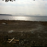 Photo taken at Searsport Shores Ocean Campground by Joseph G. on 9/3/2011