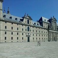 Photo taken at Monasterio de San Lorenzo de El Escorial by Javi S. on 8/24/2011