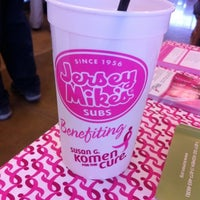 Photo taken at Jersey Mike's Subs by Misty M. on 8/24/2011