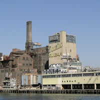 Photo taken at Domino Sugar Factory by Richard L. on 5/1/2012