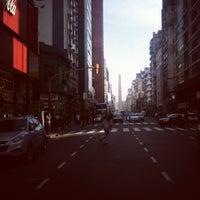 Photo taken at Avenida Corrientes by Ernest R. on 6/14/2012