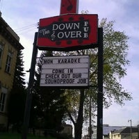 Photo taken at The Down & Over Pub by Nicole A. on 4/24/2012