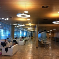 Photo taken at Alicante-Elche Airport (ALC) by Instituto Bernabeu on 7/31/2011
