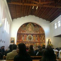 Photo taken at Parroquia Santa Rosa de Lo Barnechea by Paz G. on 5/5/2012