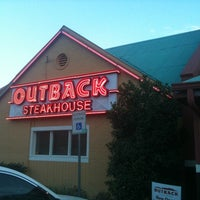 Photo taken at Outback Steakhouse by Liza D. on 9/29/2011
