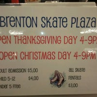 Photo taken at Brenton Skating Plaza by Donnie B. on 11/22/2011