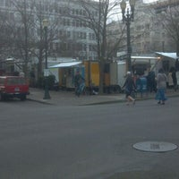 Photo taken at The Gaufre Gourmet by Andrew T. on 1/31/2012