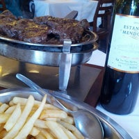 Photo taken at El Rincón Gaucho by alcides p. on 8/25/2012