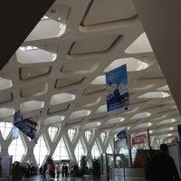 Photo taken at Marrakech Menara Airport (RAK) by Alberto P. on 3/5/2012