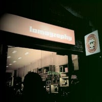 Photo taken at Lomography Gallery Store by Flori S. on 1/7/2012
