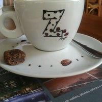Photo taken at Z Café by Rafaela B. on 8/12/2012