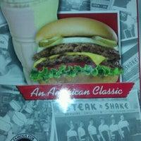 Photo taken at Steak 'n Shake by Tim B. on 2/23/2012