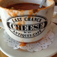 Photo taken at Last Chance Antiques & Cheese Cafe by Helen D. on 3/5/2012