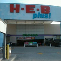 Photo taken at H-E-B plus! by Norma J. on 3/2/2012