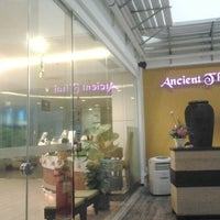 Photo taken at Ancient Thai Massage by Dylan C. on 8/26/2012