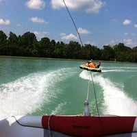 Photo taken at Bennetts Ski and Wakeboard School by Camille T. on 8/3/2011