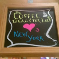 Photo taken at The Coffee Bean & Tea Leaf by Gabrielle C. on 3/30/2012