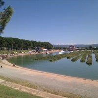 Photo taken at Parc de l'Agulla by Xavier R. on 8/27/2011
