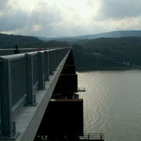 Photo taken at Walkway Over the Hudson State Historic Park by Courtney G. on 8/25/2011