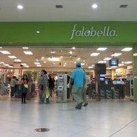 Photo taken at Falabella by Sebastian C. on 12/16/2011
