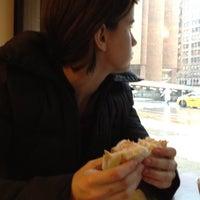 Photo taken at Mendy's Kosher Delicatessen by Matthew H. on 1/17/2012