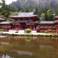 Photo taken at Byodo-In Temple by Mistie Y. on 7/19/2011