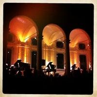 Photo taken at Rotonda della Besana by Alessandro S. on 5/11/2012