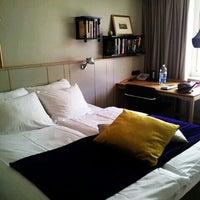 Photo taken at Mornington Hotel Stockholm City by Chrisario on 4/7/2012