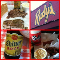 Photo taken at Rudy's Country Store & Bar-B-Q by Denny L. on 5/1/2012