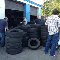 Photo taken at Roll Rite Tires by Cameron A. on 7/6/2012