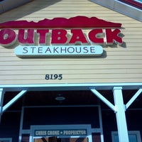 Photo taken at Outback Steakhouse by Michele S. on 7/28/2012