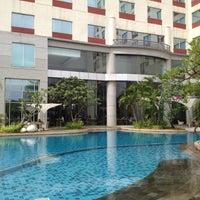 Photo taken at Hotel Santika Premiere Jakarta by Ud on 6/9/2012