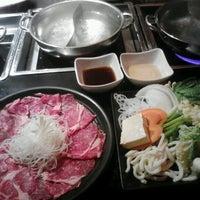 Photo taken at Koji's Sushi & Shabu Shabu by Takahiro A. on 8/24/2012