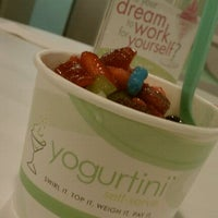 Photo taken at Yogurtini by Carrie T. on 10/30/2011
