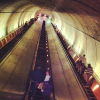 Photo taken at Woodley Park-Zoo/Adams Morgan Metro Station by Chanda H. on 5/1/2012