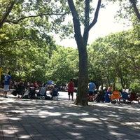 Photo taken at Sara Delano Roosevelt Park Playground by Marina on 6/24/2012
