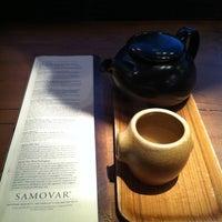 Photo taken at Samovar Tea Lounge by Jon W. on 2/10/2011